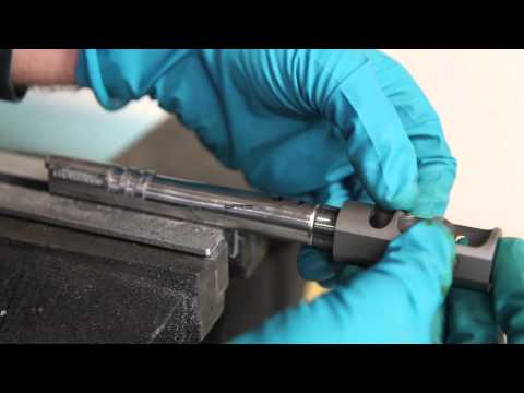 How to Install a Compensator on a 1911 (2011) Bull Barrell