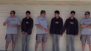 TRIPLETS MATTHEW MY 3 SONS !!     Saint Cecilia Catholic Tustin California 2018