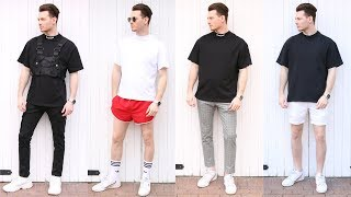 Mens Fashion Outfit Inspiration Lookbook Summer 2019 - 6 Outfits You Should Wear