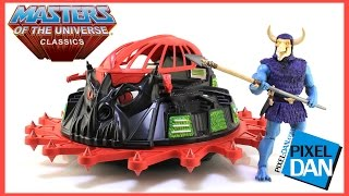 Roton with Skelcon Masters of the Universe Classics Vehicle and Figure Video Review