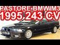 PASTORE BMW M3 E36 1995 Preto Cosmos MT5 RWD 3.0 24v 243 cv 31 mkgf 220 kmh 0-100 kmh 5,6 s #BMW