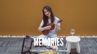 Memories - Maroon 5 and Canon in D MASH UP Violin Cover by Kezia Amelia