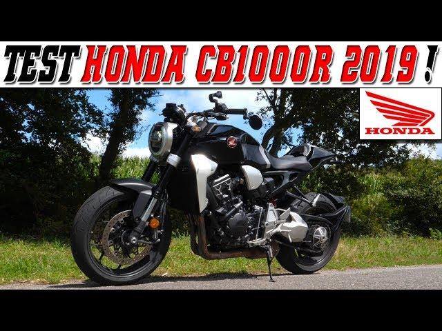 #MotoVlog 183 : TEST HONDA CB1000R 145 ch 2019 /  Un Moteur plein de vie !