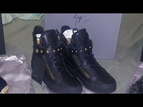 My First Luxury Sneakers Giuseppe Zanotti Unboxing