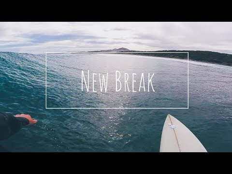 SURFING Solid Waves At A NEW Break In Dunedin!