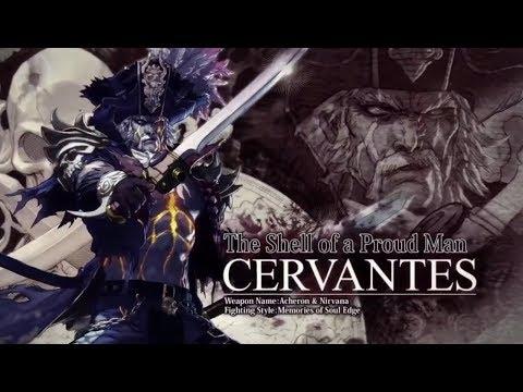 Soul Calibur VI - Cervantes reveal trailer
