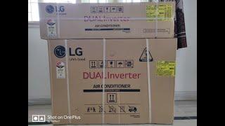 LG Dual Inverter AC KS-Q24ENXA 2.0 Ton 2019 ,Full Copper Unboxing , Installation & Initial review.