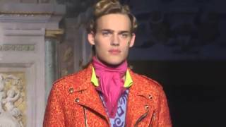Moschino | Spring Summer 2016 Full Fashion Show | Menswear