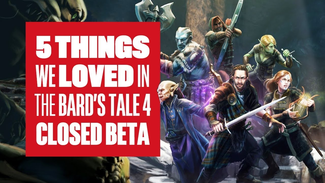 5 things we loved about The Bard's Tale 4 Beta (new gameplay)