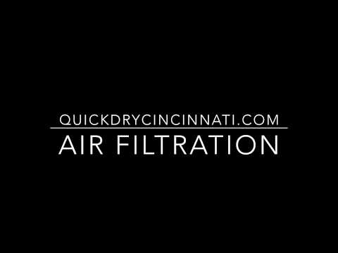 HOW TO GET RID OF BLACK DUST RINGS AROUND EDGES OF CARPET - AIR FILTRATION
