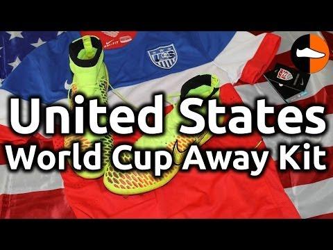 USA World Cup Away Kit  World Cup Week