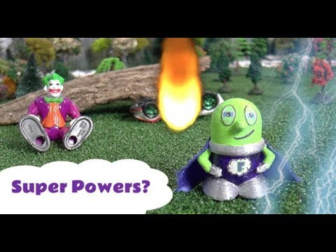 Super Funling uses Super Powers with the Funny Funlings - A fun story for  kids