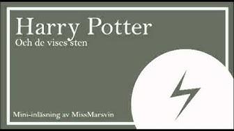 Mini inläsning - Harry Potter och de vises sten