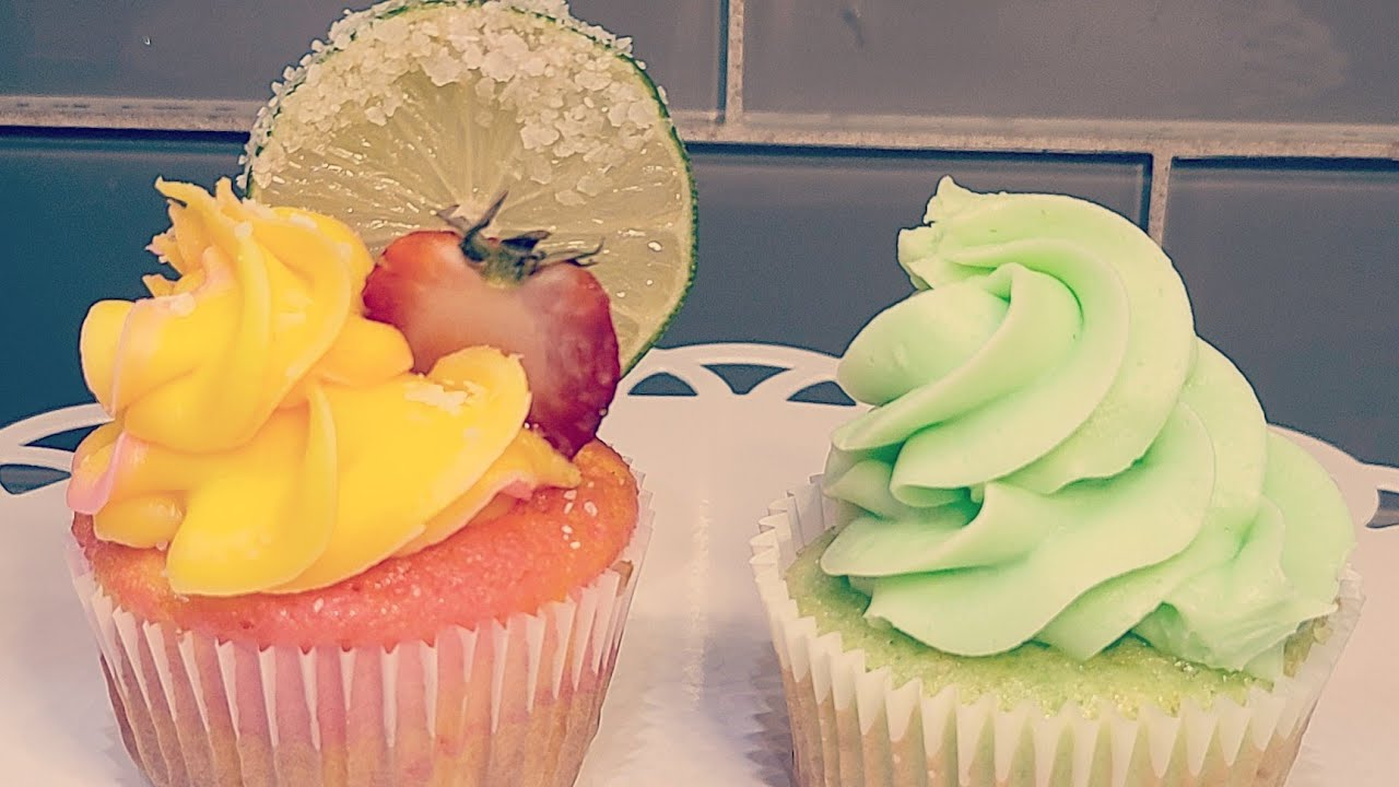 Strawberry Mango Margarita Cupcakes Youtube