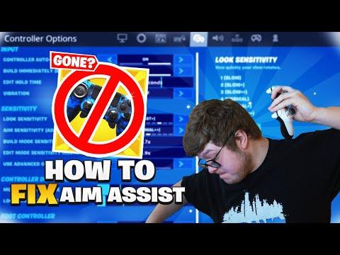 Aydan + Aim Assist & HOW TO FIX IT (Fortnite Chapter 2 Season 3)