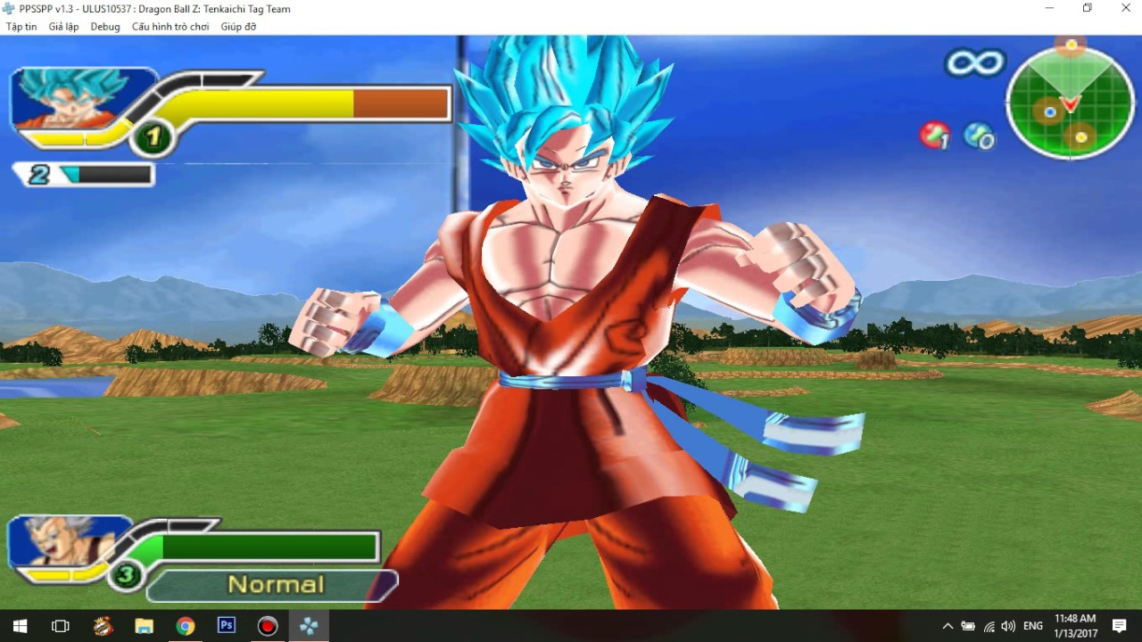 dragon ball z tenkaichi tag team psp