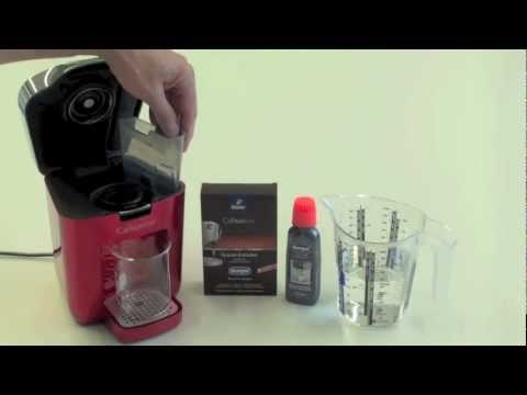 How to descale a coffee machine Tchibo Cafissimo