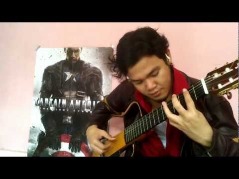 The Avengers Movie Theme (Classical Fingerstyle Guitar) w/TAB