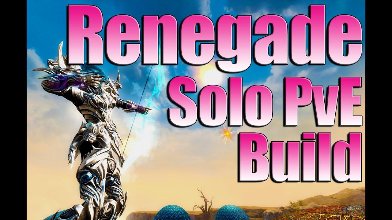 Renegade Solo Open World Build Guide