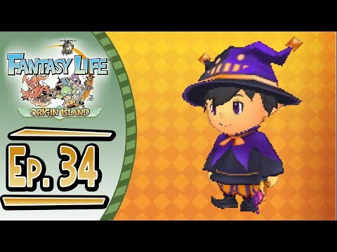 Fantasy Life - Origin Island :: # 34 :: Making Magic!