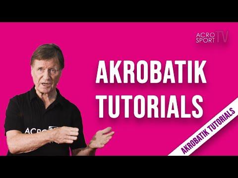 Sportakrobatik Tutorials - Trainer Werner Hassepaß Intro | AcroSportTV