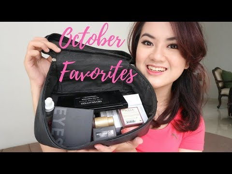 Monthly Favorites - October 2017 | The Ordinary, Focallure, MUR, Benefit, Bourjois, Loreal