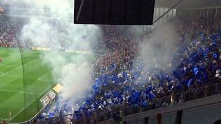 FSV Mainz 05 vs. Schalke 04 (Fangesänge + Pyro)