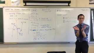 """Using the Second Derivative (4 of 5: Examples where f""""(x)=0 doesn't mean Point of Inflexion)"""