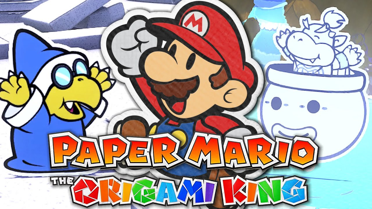 BOWSER JUNIOR A PERDU SES COULEURS ! PAPER MARIO : THE ORIGAMI KING EPISODE 15 NINTENDO SWITCH