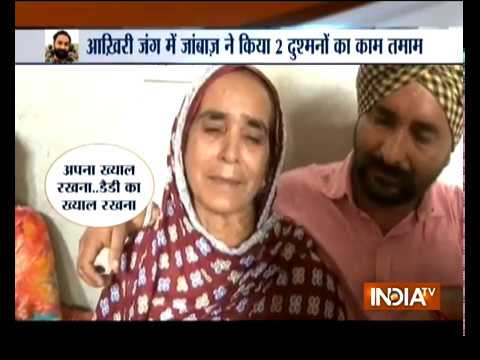 Army Jawan Mandeep Singh's Last Rites Held With Full St ...