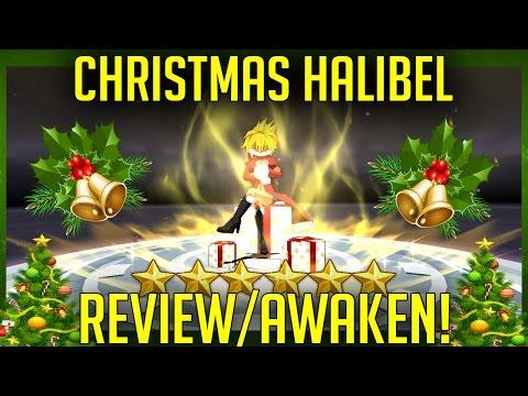 Bleach Brave Souls - Christmas Halibel Review + 6 Star Awaken! (Best Espada Card?)