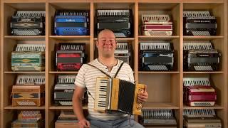 Gambar cover Valse Musette 11 accordions - French Accordion music Huib Hölzken@Limex Wiegers Acordeon Akkordeon