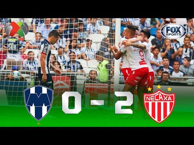 Monterrey - Necaxa [0-2]   GOLES   Jornada 9   Liga MX
