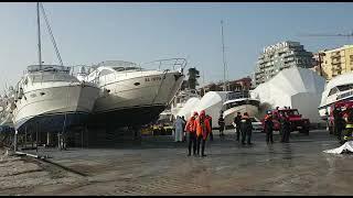 Affiora un cadavere al porto di Termoli, recuperato da Vigili del fuoco e Capitaneria