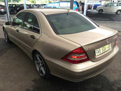 2005 mercedes benz c class c180 k auto auto for sale on. Black Bedroom Furniture Sets. Home Design Ideas
