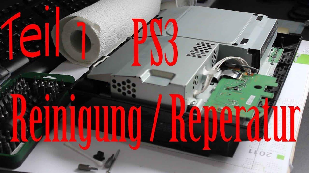 Playstation 3 Laufwerk defekt? Muss nicht sein! Tutorial Reinigung ...