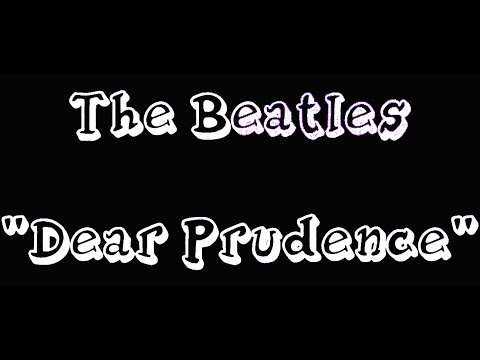 The Beatles - Dear Prudence (instrumental)