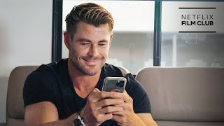 Group Text with Dwayne Johnson, Joey King, Chris Hemsworth & More | Netflix