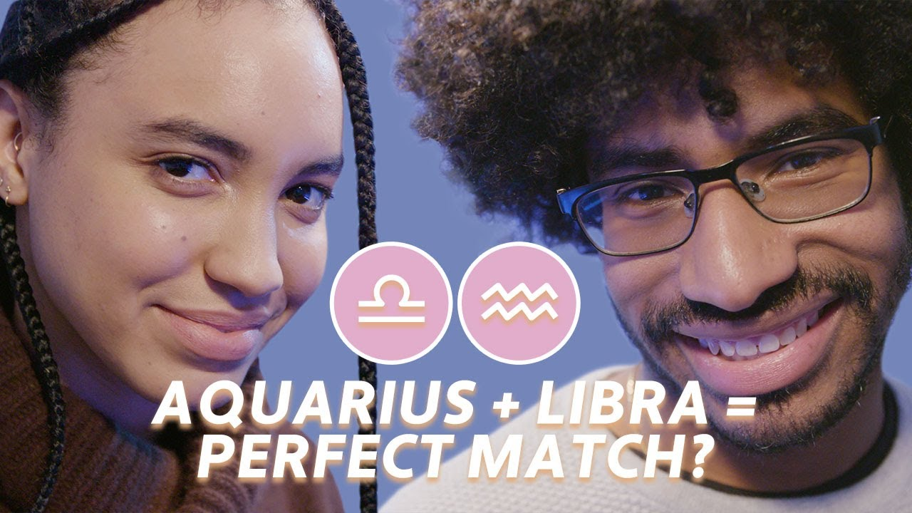 Perfectly Matched Zodiacs Go On A Blind Date | Bustle
