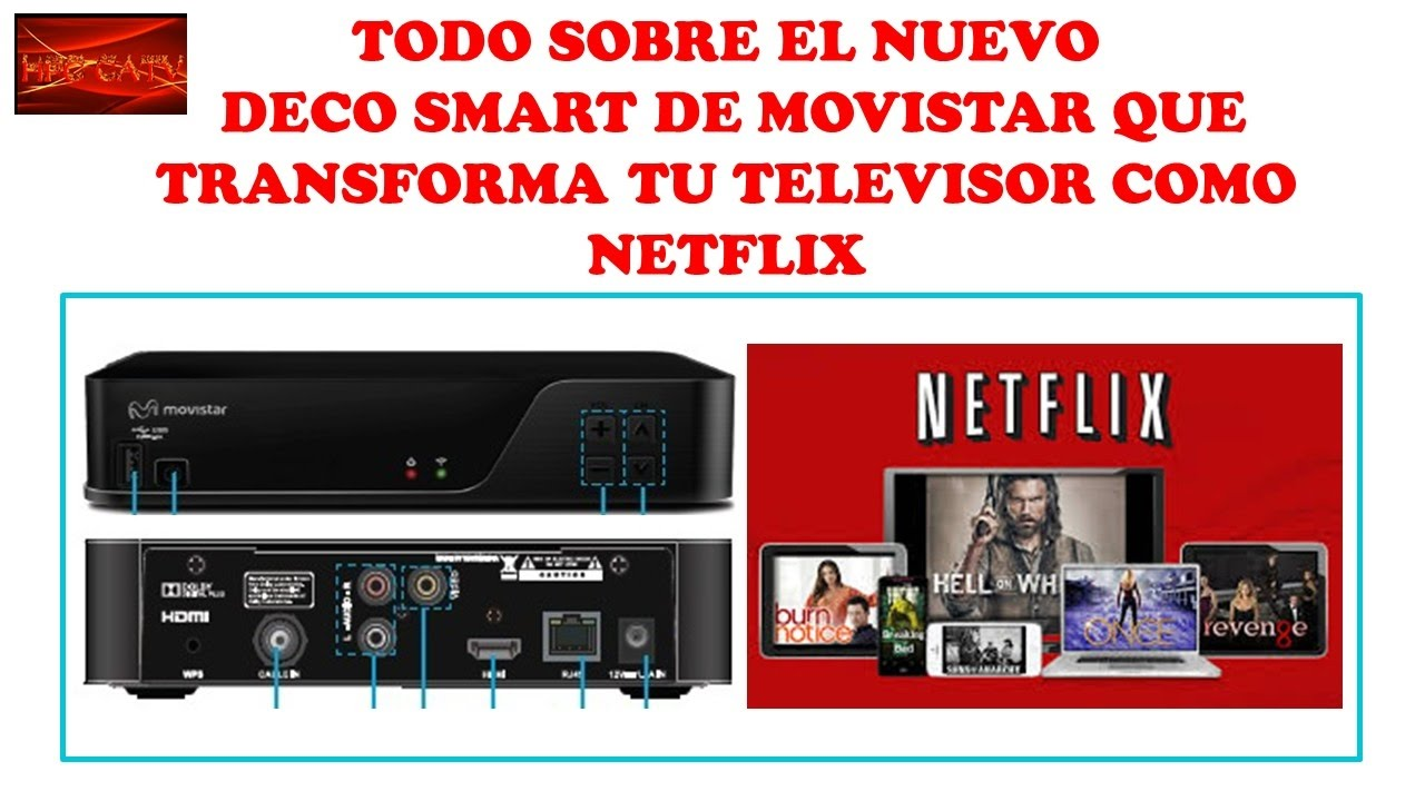 nuevo deco smart de movistar que competira con netflix curso de television por cable youtube. Black Bedroom Furniture Sets. Home Design Ideas