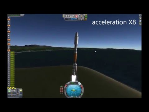 KSP Stock ISS assembly - Zvezda launch and docking