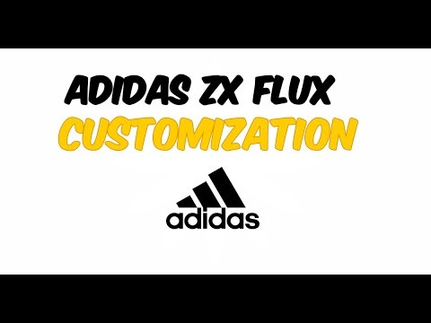 Customizing Adidas Zx Flux