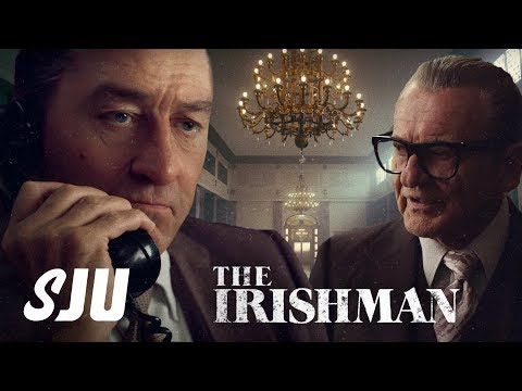 DeNiro Gets DeAged in The Irishman Trailer! | SJU