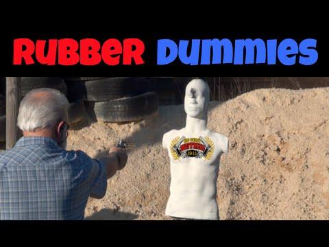 Rubber Dummies Reactive Target
