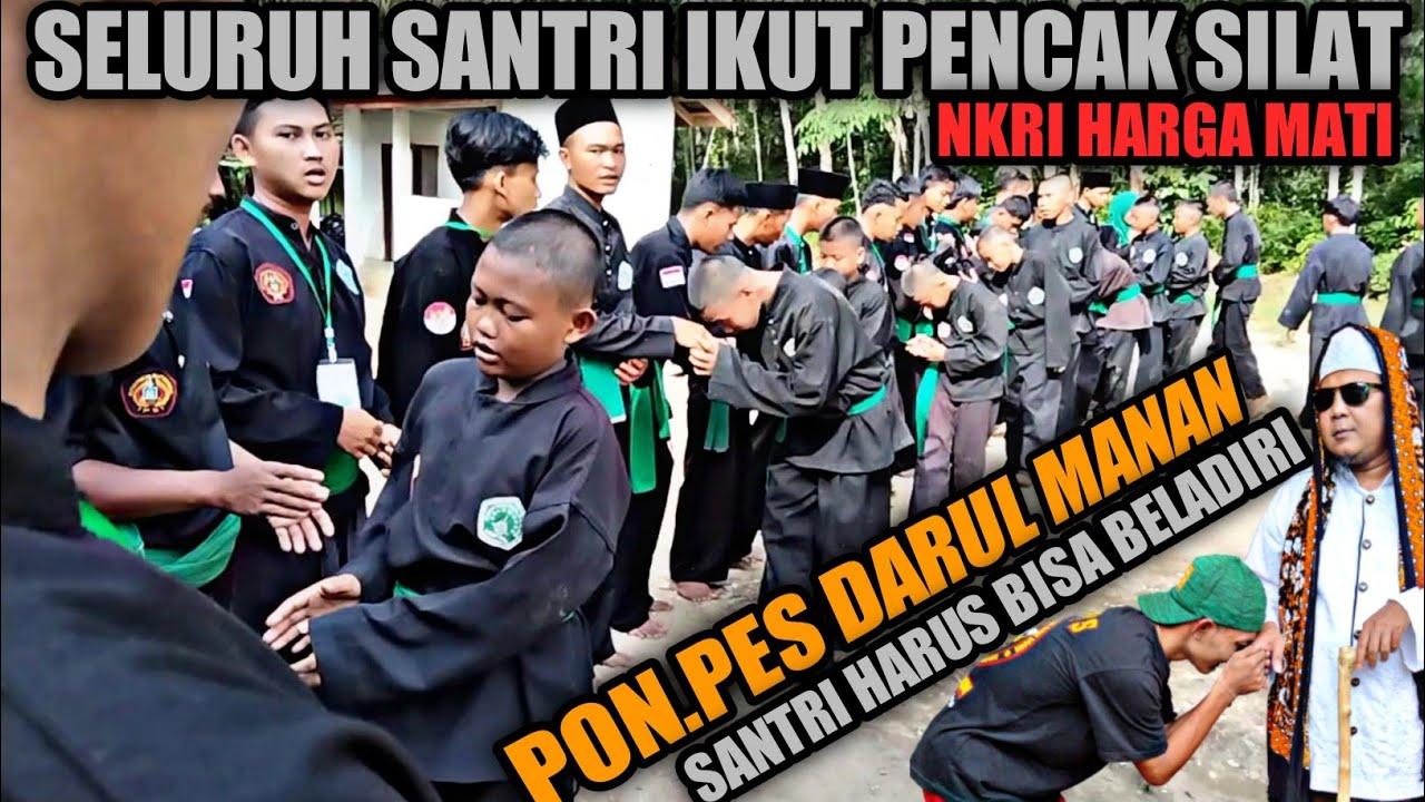 Seluruh Santri Ikut Pagar Nusa ‼️Pon.Pes Darul Manan - The Fighter Muslim