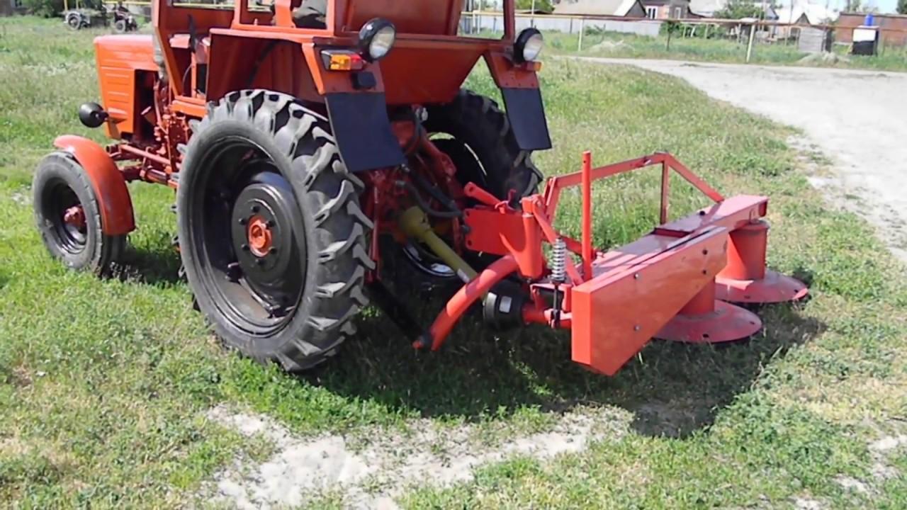 косилка на трактор т25