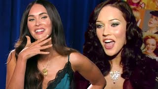 Megan Fox Reacts To Her First Interview And Other Major Career Moments  Exclusive