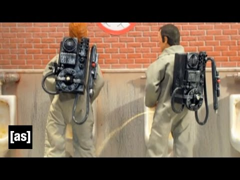 Don't Cross The Streams | Robot Chicken | Adult Swim
