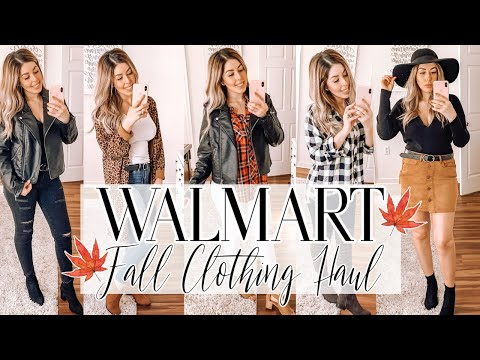 WALMART FALL CLOTHING HAUL 2019 | SHOP WITH ME | TRY ON | FALL OUTFIT IDEAS