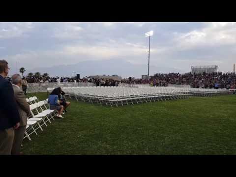 Desert Hot Springs High School Graduation 2017